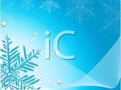 iCLIPART - Royalty Free Clipart Image of a Blue Snowflake Background
