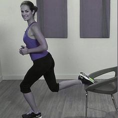 The Best Moves For a Hotel Room Workout - or just any other room - the thng is you don't need any professional accessories to do this workout!