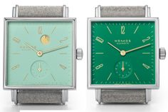 Introducing The Tetra Berlin Collection, A Few New Colorful Watches From NOMOS — HODINKEE - Wristwatch News, Reviews, & Original Stories