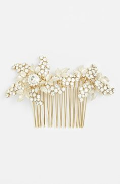 Wedding Belles New York 'Jacqueline' Hair Comb available at #Nordstrom
