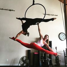 "822 Likes, 18 Comments - Shannon X (@girl_in_the_air) on Instagram: ""Had a great time giving a Lyra workshop to the instructors at Urban Aerial Fitness today! Thank you…"""