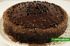 The Recipe for the Sacher Chocolate Cake (the Sachertorte)   Baked Goods   Genius cook - Healthy Nutrition, Tasty Food, Simple Recipes