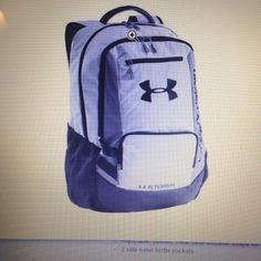 17868b475453 Under Armour Hustle Backpack Color White One Size Free Shipping  shopsmall  BUY NOW  69.95 Under