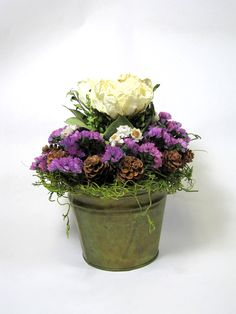 dried flower decor on Esty | Dried Floral Arrangements, Dried Flowers, Arrangements, Spring Decor ...