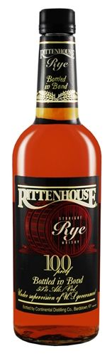 Rittenhouse Whiskey: Rittenhouse 100, Rittenhouse Rye 100 Proof, $24