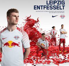 Novo Uniforme do RB Leipzig 2017/18
