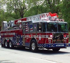 FDNY Ladder 150, celebrating 150 years of the FDNY's service to the city of New York.