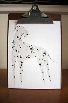 Dalmatian Illustration Dalmatian Art Pet Art  FREE US by Gingiber, $23.00