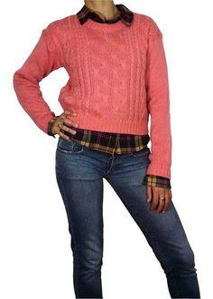 Sweater Hilo Trenzado