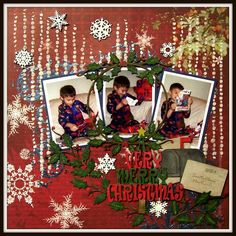 Happy Thursday, everyone! I'm up on the Creative Embellishments blog with another Christmas layout to share using some FABULOUS Creative Embellishments Chipboard pieces! I can't get enough of the w...