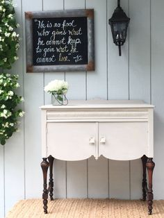 A personal favorite from my Etsy shop https://www.etsy.com/listing/525449892/petite-french-grey-cottage-cabinet