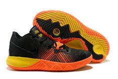 2018 Cheap Nike Kyrie Irving Flytrap Black Yellow Orange Air Jordan  Sneakers c4283b895