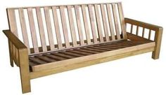 Divano letto Kyoto - in legno con futon