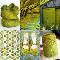 Sources: TFA Pink Label in Chartreuse, feathers, barn door, star tiles, shoes.