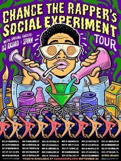 """Chance The Rapper Announces """"Social Experiment"""" Tour"""