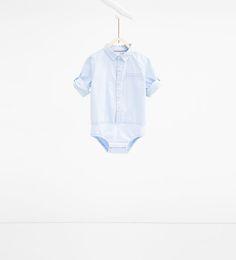 ZARA - ENFANTS - Body chemise