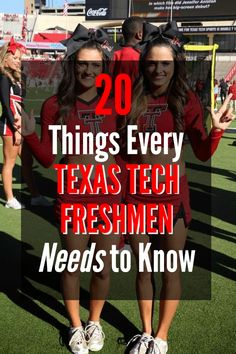 20 Things Every Texas Tech Freshman Needs to Know - College can be intimidating when you don't know what to expect or what to do. Here are 20 things every Texas Tech freshman needs to know! College Games, College Game Days, College Planning, College Life, Dorm Life, College Ready, College Dorms, College Fun, Texas Tech Dorm