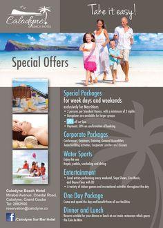 Calodyne Beach Hotel Special Mauritian Offer Tel 288 2590