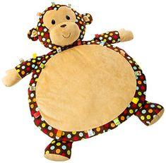 Mary Meyer Taggies Dazzle Dots Monkey Toy, Baby Mat Mary Meyer http://www.amazon.com/dp/B00TM91NOW/ref=cm_sw_r_pi_dp_jidHwb0F9E6W9