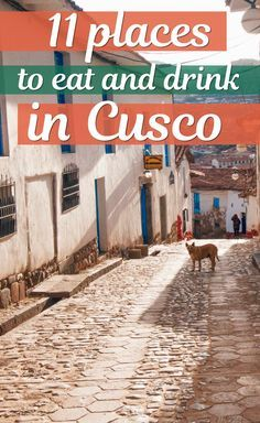 Where to eat and drink in Cusco, Peru. Some of the best restaurants in Peru are found in Cusco. You can find anything from traditional Peruvian food, Ceviche, Italian and hamburgers. #Cusco #Peru #Peruvian #Inca #southamerica
