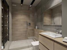 industrialnie na 48m2 - Mała łazienka w bloku bez okna, styl industrialny - zdjęcie od Pracownia Wielkie Rzeczy