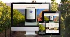 The award-winning Cakebread Cellars website