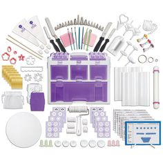 Wilton Ultimate Decorating Set - Ultimate Tool Caddy and Tools