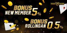 PokerOnline88 merupakan situs Agen Bandar Poker Online uang asli indonesia terpercaya dengan 8 permainan terbaik seperti poker, domino qq, ceme, ceme keliling, capsa susun, livepoker, super10 dan omaha.