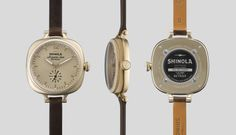 THE GOMELSKY 36mm Dark Brown Leather Watch | Shinola®
