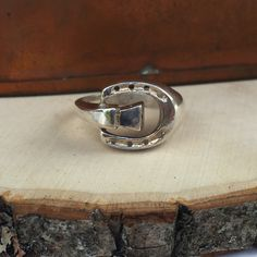 A personal favorite from my Etsy shop https://www.etsy.com/listing/289008867/vintage-horseshoe-ring-country-cowgirl