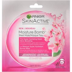 Moisture Bomb Super Hydrating Sheet Mask for Glow-Boosting (Pack of 10) *** Check out the image by visiting the link. (This is an affiliate link) Facial Skin Care, Facial Masks, Eyeliner, Shampooing Sec, Skin Active, Hydrating Serum, Sakura, Glow, Dull Skin