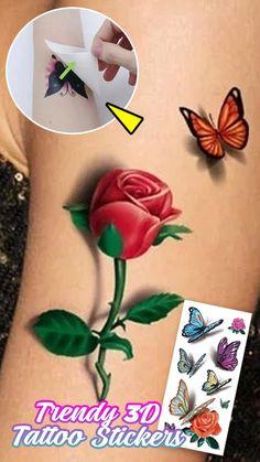 Little Tattoos, Love Tattoos, Beautiful Tattoos, Inkbox Tattoo, Real Tattoo, Diy Makeup Artist, Native American Feather Tattoo, Delicate Flower Tattoo, Sticker Removal