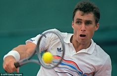 IVAN LENDL - Australian Open (1989, 1990) - French Open (1984, 1986, 1987) - US Open (1985, 1986, 1987)