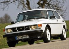 1979 Saab 99 Turbo in White New cogs/casters could be made of cast polyamide which I (Cast polyamide) can produce