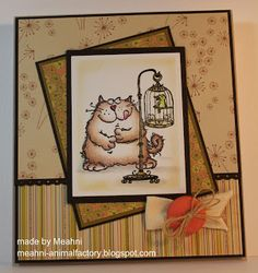 He reminds me of my little Jingle, who's not that little I'll have you know, lol! Bon Appetit, I Card, Cats, Animals, Decor, Gatos, Animales, Decoration, Animaux