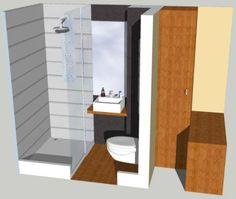 1000 images about salle de bain pr fabriqu e on pinterest hotels parfait - Arrivee d eau salle de bain ...