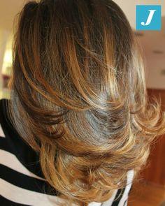 Hair natural blowout styles shoulder length Ideas for 2019 Curly Hair Styles, Natural Hair Styles, Hair Fixing, Blowout Hair, Hair Laid, Hair Highlights, Hair Looks, Hair Lengths, Hair Inspiration