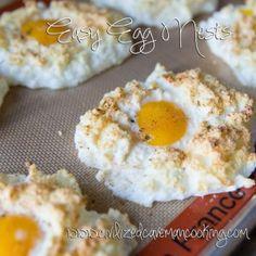 Easy Egg Nests Recipe
