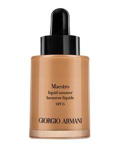 Maestro Liquid Summer Bronzer SPF 15, 100 - Giorgio Armani
