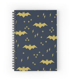 Pattern with bats. Superhero! by alijun