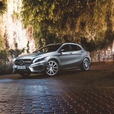 Staying calm, even though you have the sheer power of its AMG heart a the tip of your foot is a great exercise. Photo by @patrickpaparella #AMG #GLA45 #mbshootout #mbcars #mbfanphoto #instacars