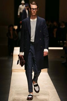 Felix Gesnouin for Canali Menswear SS 2015 Milan ph. Gianni Pucci