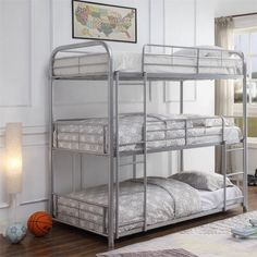 Kaufman triple bunk bedKaufman triple bunk bedAlgomera Twin over bunk bedAlgomera Twin over bunk bed with stair caseMarino bunk bed with stairsMarino bunk bed with stairs - Casa wonderful id .Marino bunk bed with Safe Bunk Beds, Bunk Bed Sets, Bunk Bed With Trundle, Metal Bunk Beds, Bunk Beds With Stairs, Full Bunk Beds, Kid Beds, Triple Twin Bunk Bed, Triple Bed