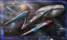 The USS REMORAH by DonMeiklejohn on DeviantArt