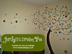 DESIGN THOUGHTS....: Creating a space for the tiniest client: Childrens murals!