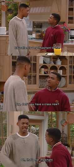 I totally agree!  the fresh prince of bel air.
