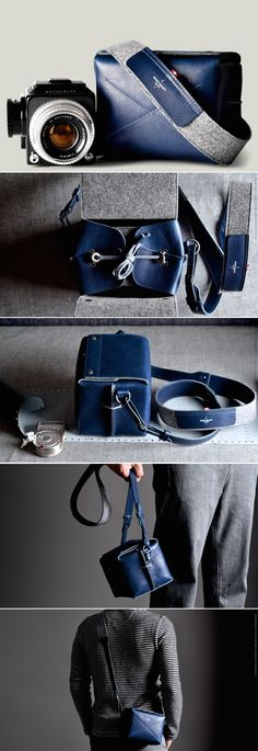 #HardGraft Box Camera Bag / Ocean
