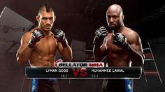 combat sports design graphics BELLATOR MMA - Ben Bullock Design