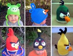 If these were my kids, it would be hard not to throw the kids in the bird hats at the kids in the pig hats. Also, I don't plan on having enough kids to make an entire squad of angry birds....I'm close, but don't plan on continuing!