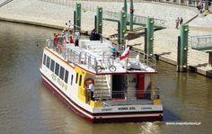 Statek turystyczny Laguna - Port - Nowa Sol